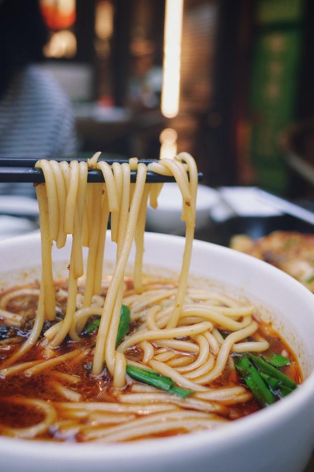 China lanzhou ramen noodles